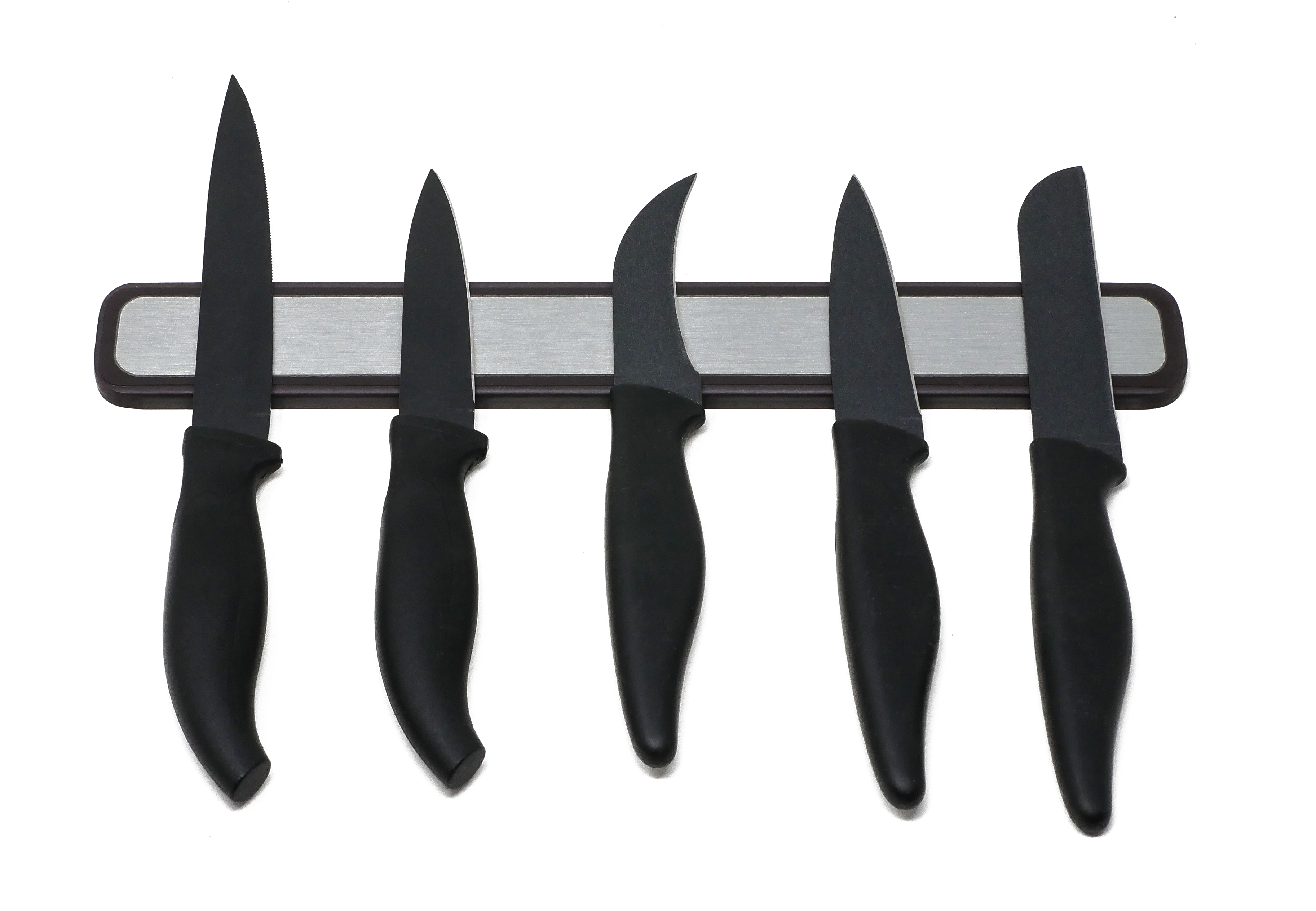 "The Rubber ""Peel & Stick"" Magnetic Knife Rack"