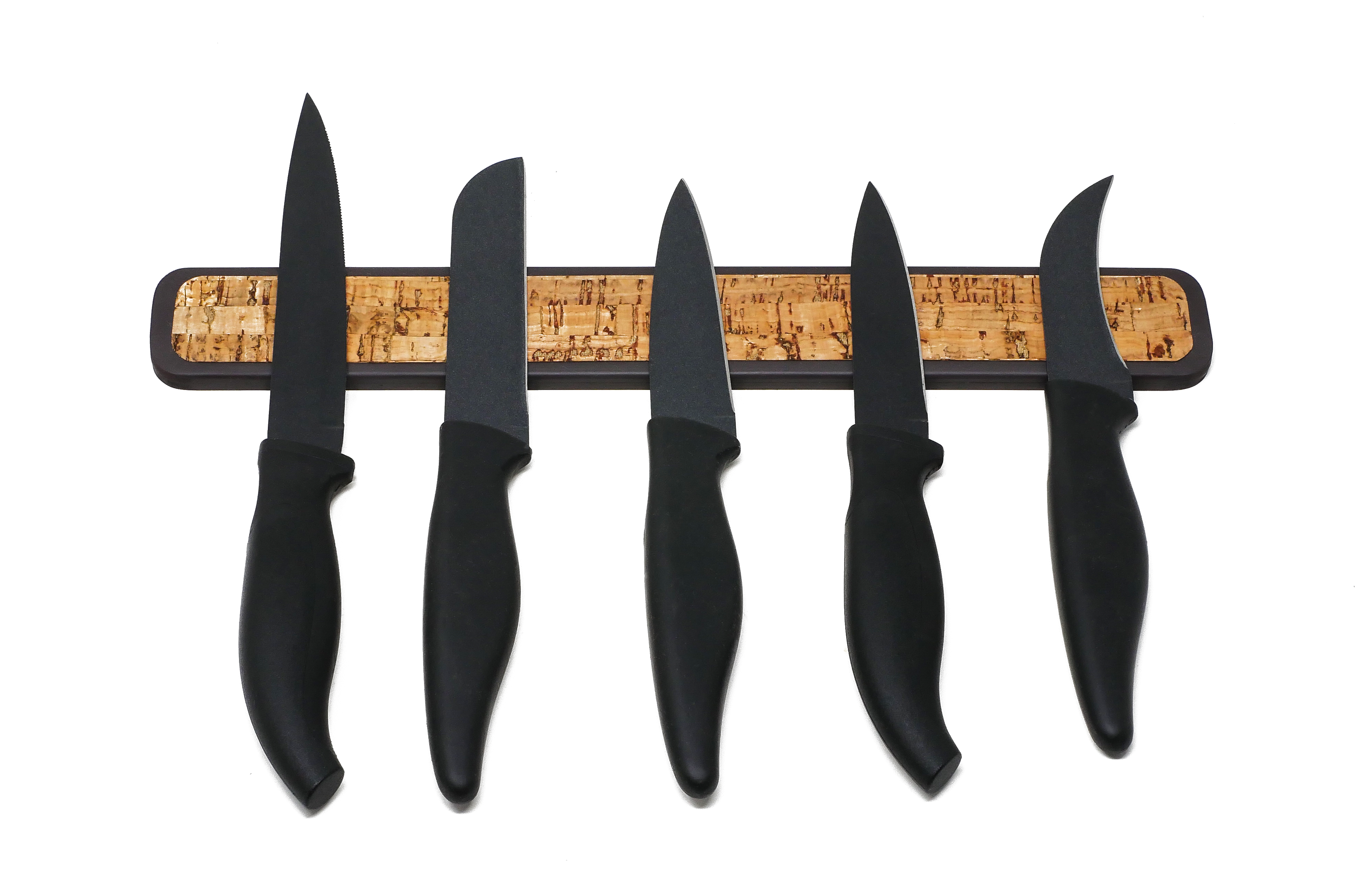 The 2 Sided Rubber Magnetic Knife Rack